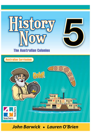 History Now - Student Book: Year 5