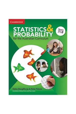 Statistics and Probability for the Australian Curriculum - Year 7 & 8: Print and Digital