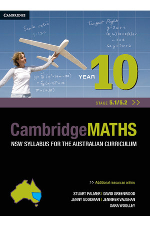 CambridgeMATHS - NSW Syllabus for the AC: Year 10 (Stage 5.1/5.2) - Student Book + HOTmaths (Print & Digital)