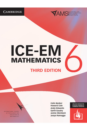 ICE-EM Mathematics for the Australian Curriculum - Third Edition: Year 6 (Print & Digital +HOTmaths)