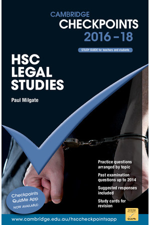Cambridge Checkpoints HSC - Legal Studies (2018-2019)