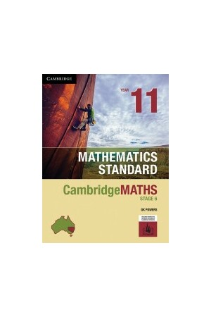 CambridgeMATHS Stage 6 Mathematics Standard - Year 11 (Print & Digital)
