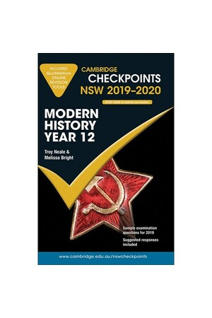 Cambridge Checkpoints NSW - Modern History Year 12 (2019-2020)
