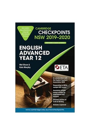 Cambridge Checkpoints NSW - English Advanced Year 12 (2019-2020)