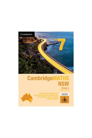 CambridgeMATHS - NSW Syllabus: Year 7 - Student Book + HOTmaths (Print & Digital)