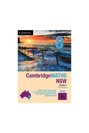 CambridgeMATHS - NSW Syllabus: Year 8 - Student Book + HOTmaths (Print & Digital)