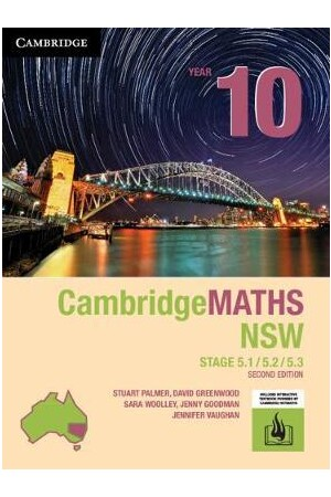 CambridgeMATHS NSW: Year 10 - 5.1/5.2/5.3 (2nd Edition)