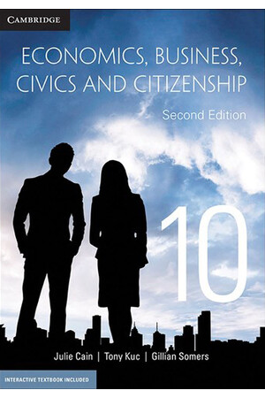 Economics, Business, Civics and Citizenship (2nd Edition) - Year 10: Student Book (Print & Digital)