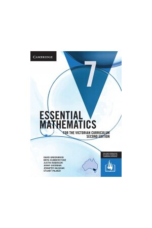 Essential Mathematics for the Victorian Curriculum - Year 7: Student Textbook (Print & Digital)