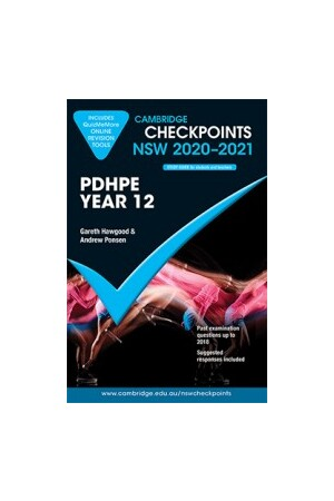 Cambridge Checkpoints NSW - Personal Development, Health and Physical Education: Year 12 (2020-2021)