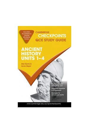 Cambridge Checkpoints QCE - Ancient History: Units 1 - 4