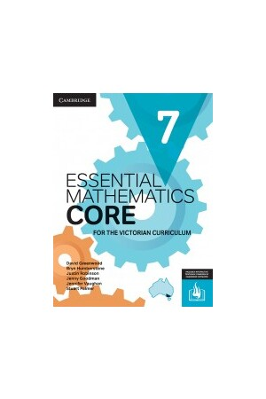 Essential Mathematics CORE for the Victorian Curriculum - Year 7 (Print & Digital)