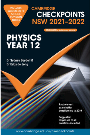 Cambridge Checkpoints NSW - Physics: Year 12 (2021-2022)