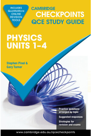 Cambridge Checkpoints QCE - Physics: Units 1–4