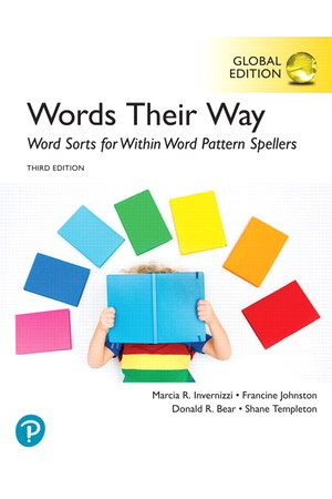 Words Their Way: Word Sorts for Within Word Pattern Spellers (Third Edition)