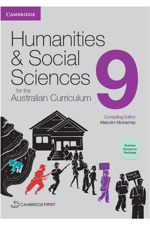 Humanities and Social Sciences for the Australian Curriculum - Year 9: Teacher Resource Package (Digital Access Only)