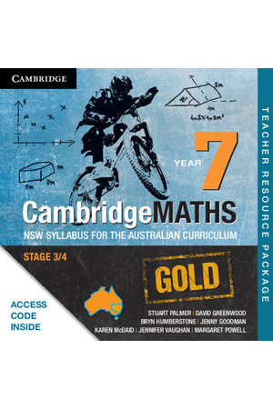 CambridgeMATHS GOLD - NSW Syllabus for the AC: Year 7 - Teacher Resource Package (Digital Access Only)