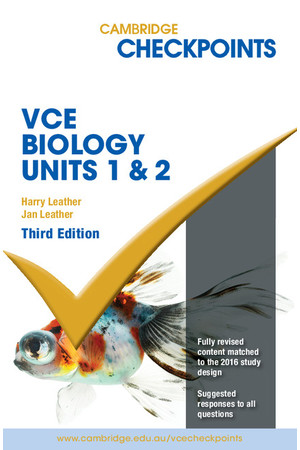 Cambridge Checkpoints VCE Biology (2016-2018) - Units 1&2 (Print)