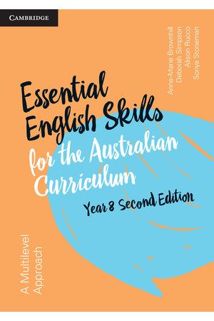 Essential English Skills for the AC (2nd Edition) - Year 8: Student Workbook (Print)