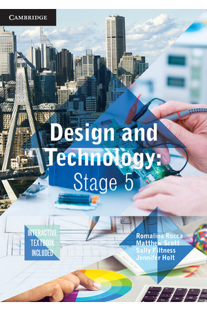 Design and Technology - Stage 5 (NSW): Student Book (Print & Digital)