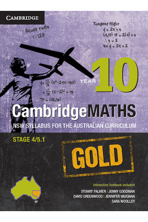CambridgeMATHS GOLD - NSW Syllabus for the AC: Year 9 - Student Book + HOTmaths (Print & Digital)