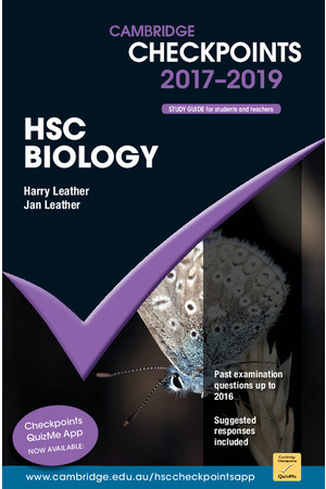 Cambridge Checkpoints HSC - Biology (2017-2019)