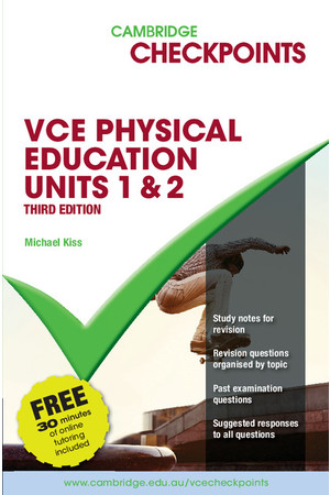 Cambridge Checkpoints VCE Physical Education (2017-2020) - Units 1&2 (Print)