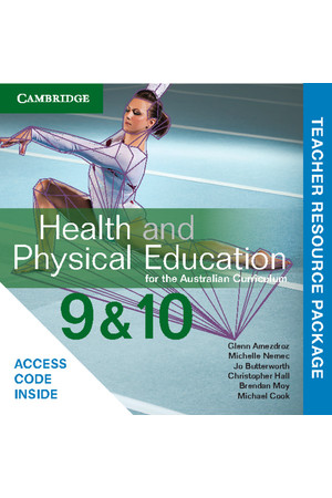 Health and Physical Education for the AC - Years 9 & 10: Teacher Resource Package (Digital Access Only)