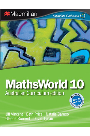 MathsWorld 10/10A - Print & eBook