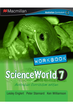 ScienceWorld 7 - Workbook: Print & Digital