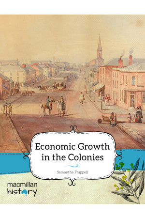 Macmillan History - Year 5: Non-Fiction Topic Book - Economic Growth in the Colonies (Pack of 6)