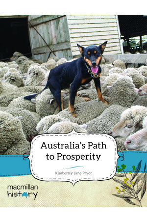 Macmillan History - Year 5: Non-Fiction Topic Book - Australia's Path to Prosperity (Pack of 6)