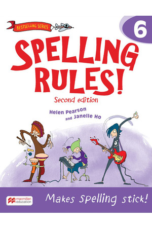 Spelling Rules! - Second Edition: Student Book 6