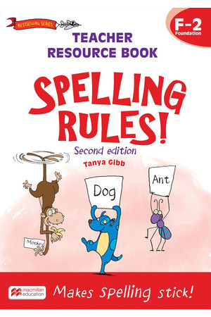 Spelling Rules! - Second Edition: Teacher Resource Book Years 1-2