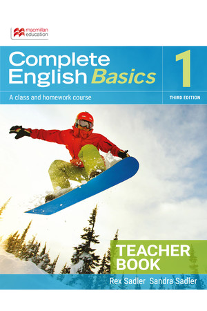 Complete English Basics 1: Teacher Resource Book (3rd Edition)