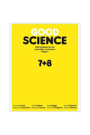 Good Science NSW syllabus for the Australian Curriculum Stage 4 Student Book + Digital