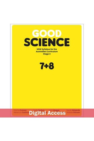Good Science NSW syllabus for the Australian Curriculum Stage 4 Teacher Digital Access