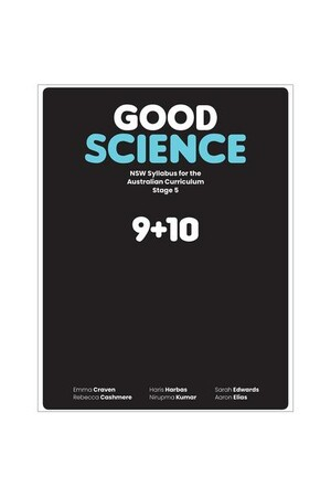 Good Science NSW syllabus for the Australian Curriculum Stage 5 Student Book + Digital
