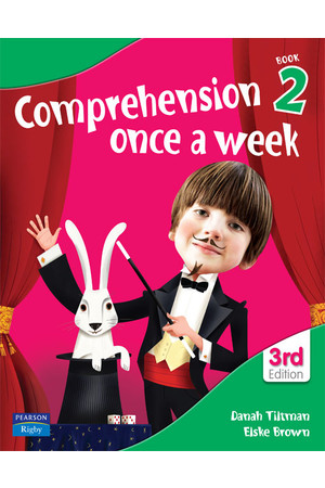 Comprehension Once a Week - Book 2 (3rd Edition)