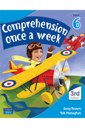 Comprehension Once a Week - Book 6 (3rd Edition)