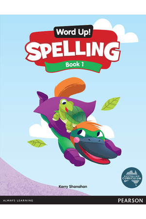 Word Up! Spelling - Book 1