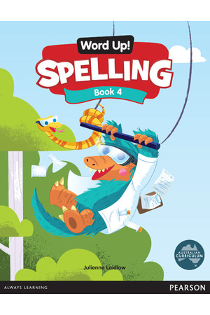 Word Up! Spelling - Book 4
