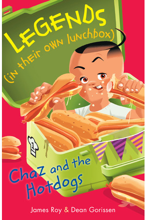 Legends in their own Lunchbox - Set 3: Chaz and the Hotdogs