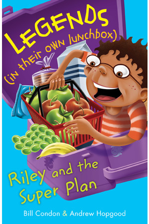Legends in their own Lunchbox - Set 3: Riley and the Super Plan