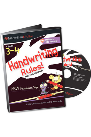 Handwriting Rules! - NSW Foundation Style: Teacher Support CD (3-4)