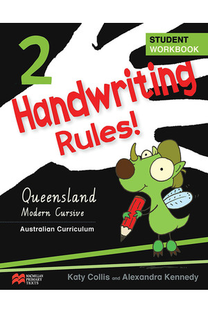 Handwriting Rules! - Queensland Beginner's Modern Cursive: Year 2