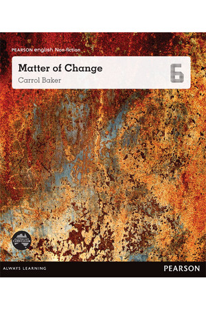 Pearson English Year 6: Extreme Changes - Matter of Change