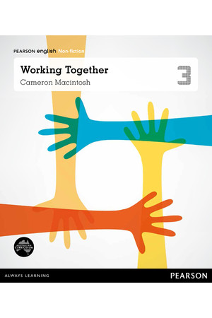 Pearson English Year 3: Making a Difference - Non-Fiction Topic Book -Working Together