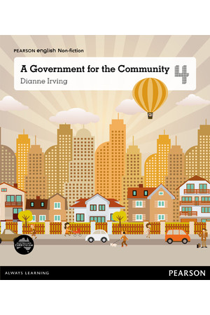 Pearson English Year 4: Local Government - Non-Fiction Topic Book - A Government for the Community