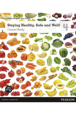 Pearson English Year 4: Healthy Living - Non-Fiction Topic Book - Staying Healthy, Safe and Well!
